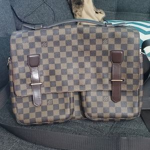Louis Vuitton Damier Ebene Laptoptop Messenger bag